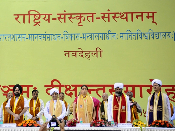 Sanskrit is the voice of India's soul and wisdom and is a great repository of knowledge says Irani