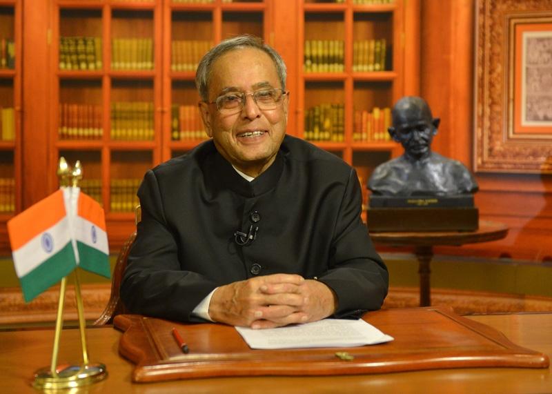 Prez Mukherjee shares message on eve of Gandhi Jayanti; says we should rededicate to Bapu's ideals