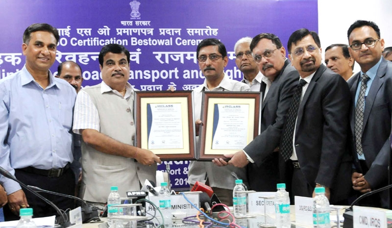 Transport Ministry gets ISO certificate for development of infrastructure across the nation
