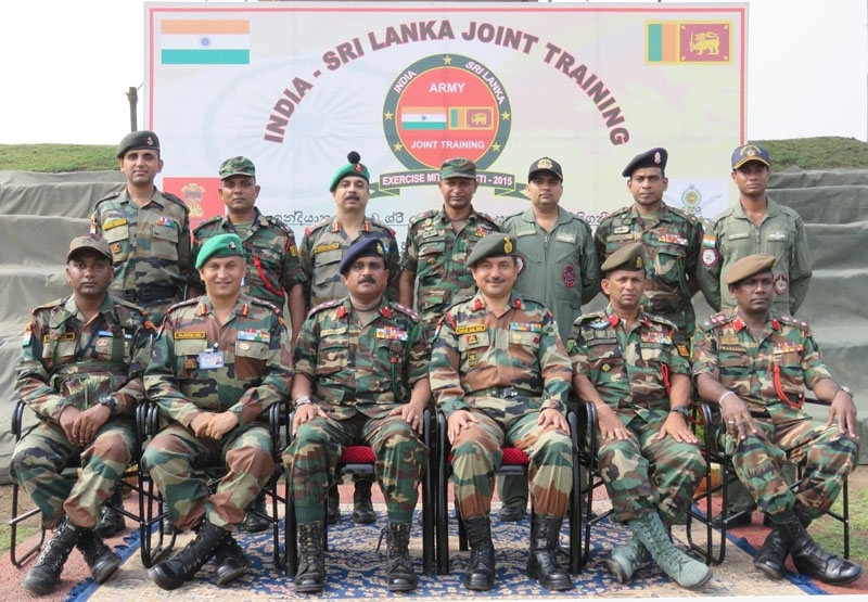 """Indo-Sri Lankan exercise """"Mitra Shakti-2015"""" begins; aims to uproot terrorism in all its forms"""