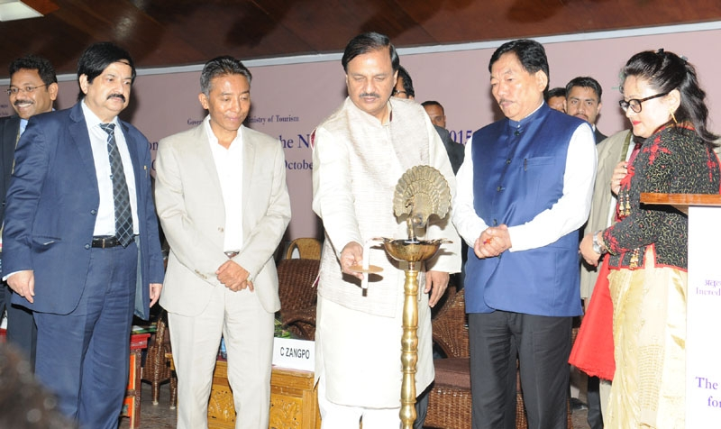 Improving road and air connectivity is the key to boost tourism in North-East says Mahesh Sharma