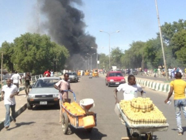 Twin blasts in Nigeria's Maiduguri region take lives of 14 people, over 17 injured