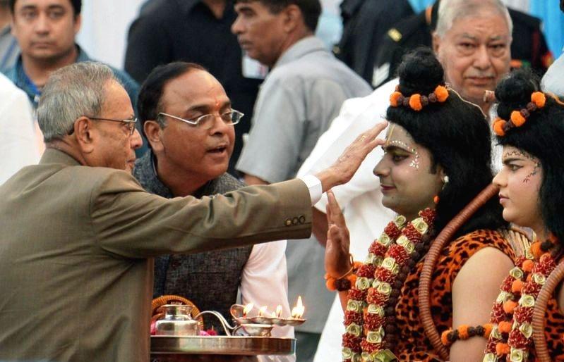 भगवान राम की तरह सिद्धातों का पालन करे समाज : राष्ट्रपति