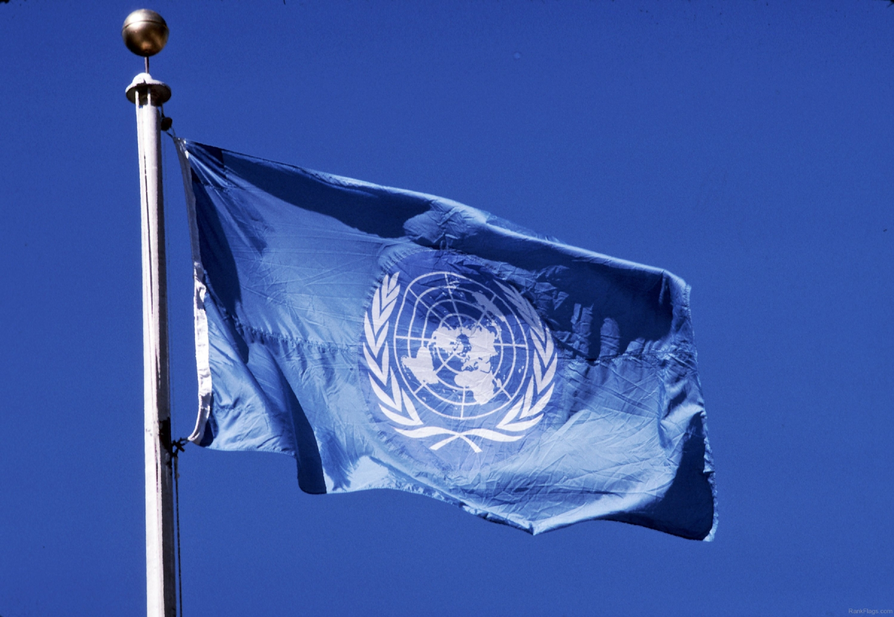 United Nation's flag to be flown on Government buildings on UN Day along with Indian Tricolor