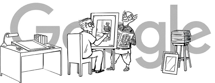 Google marks 94th birth anniversary of legendary cartoonist RK Laxman