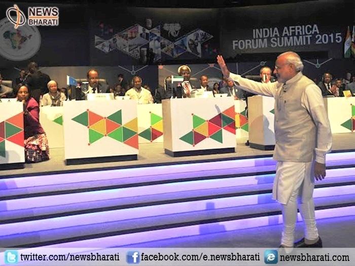 आईटी, कौशल्य विकास, पर्यावरण संरक्षण व आतंकवाद के विरुद्ध लड़ाई में अफ्रीका संग मजबूती से खड़ा होगा भारत: मोदी