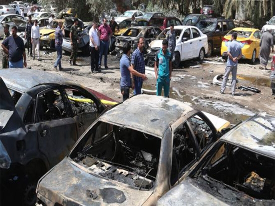 At least 63 killed in a serial bomb attacks in Iraq