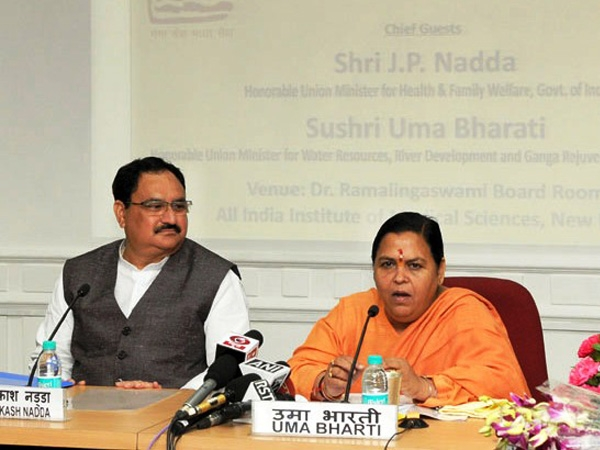 Nadda assures support for research on medicinal properties of Ganga water for holistic health