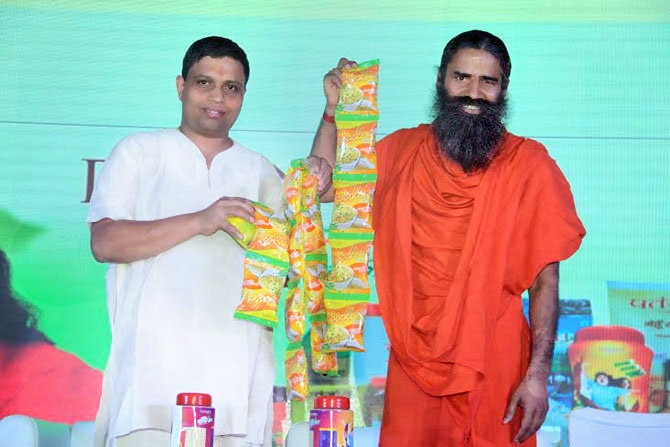 Patanjali's Atta noodles launched; Ramdev says his venture's noodles cheaper than the competitors