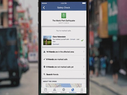 After ongoing earthquake and terror attacks Facebook  to use 'Safety check' more often