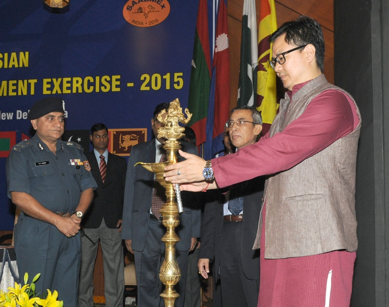 Rijiju calls upon SAARC nations high priority and better concept to Disaster Management