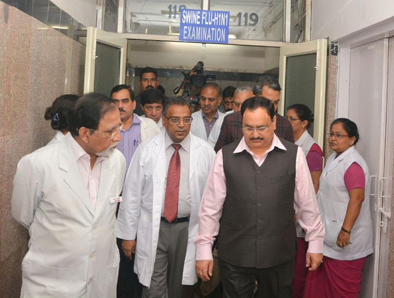 Nadda reviews preparedness on H1N1; asks health officials to ensure adequate stock of medicines