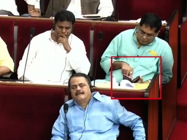 Congress MLA Naba Das suspended Odisha Assembly for watching obscene video