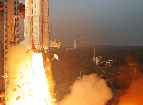 ISRO launches PSLV-C29 carrying six satellites of Singapore from Sriharikota