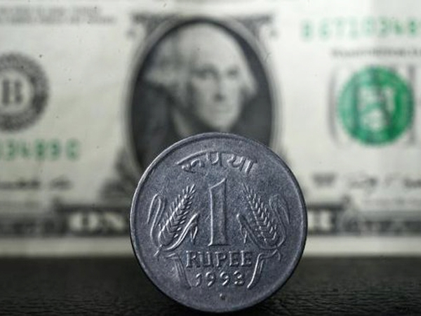 Rupee gains 2 paise against dollar, equities help