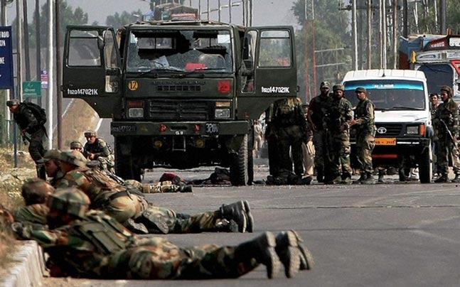 Militants fire at police party in Kashmir, two cops injured