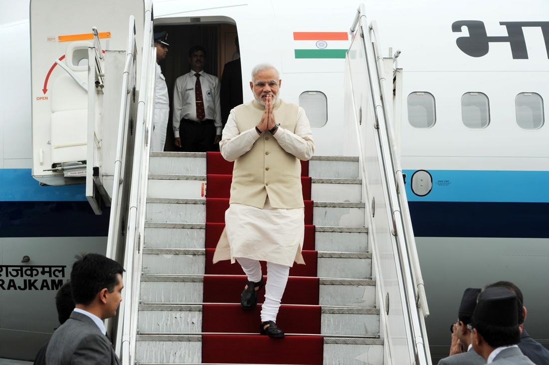 PM Modi wishes Pak PM Nawaf Sharif on this birthday; will be flying to Lahore today afternoon