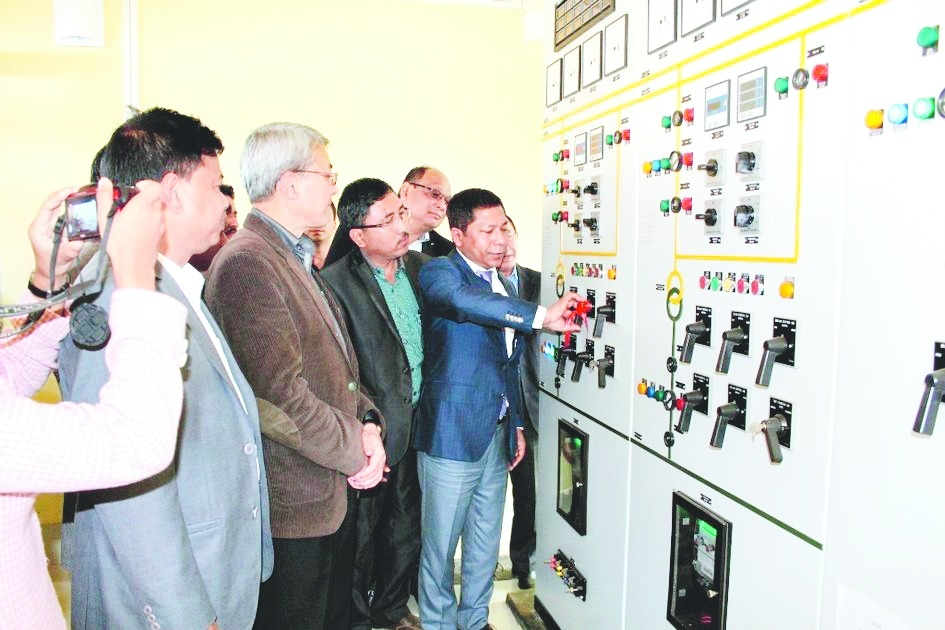 Sangma inaugurates new power substation; fulfills long-awaited dream of people of North Garo region