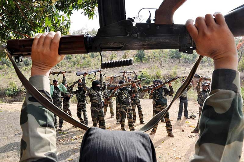 Eight Maoists killed in an encounter in Gottepau forest of Telangana-Chattisgarh boarder
