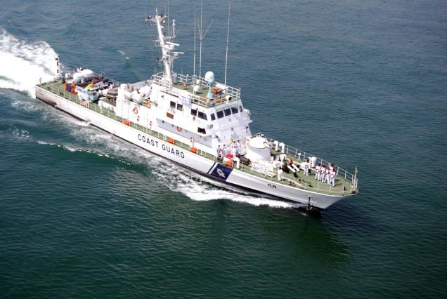 Pakistani fishing boat seized by Indian Coast Guard for illegally entering Indian waters