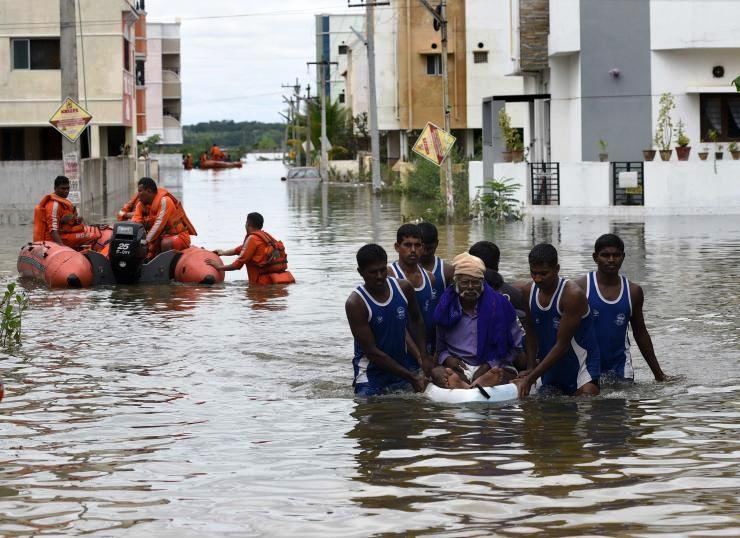 Cabinet Secretary chairs National Crisis Management Committee meeting to review flood situation in Tamil Nadu