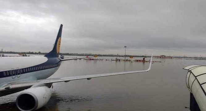 #ChennaiRains: Govt to ply commercial flights for two days from Arakkonam to other parts of country