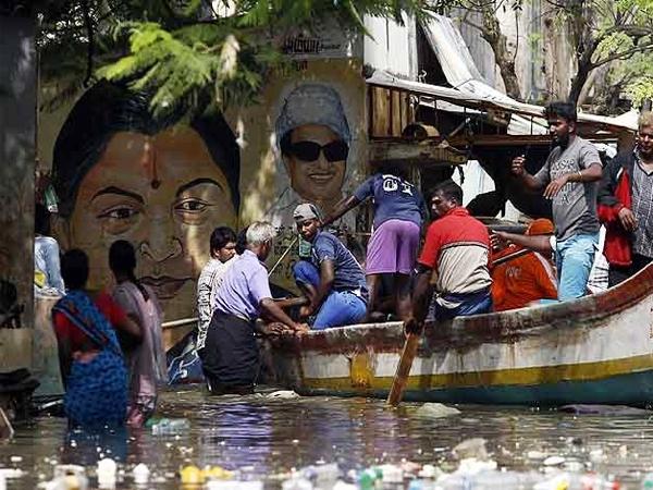 Continuous rains keeps Chennai on halt; NDRF sends 20 more teams, rescues 10,000