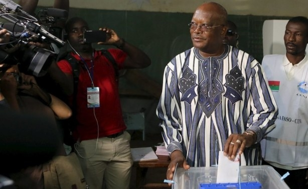 Kabore elected as President of Burkina Faso after achieving 53.5% vote in 14-candidate race