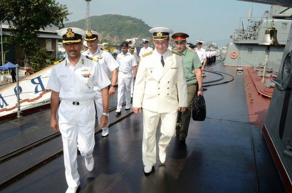 Indo-Russian naval exercise begins to strengthen interoperability between both navies