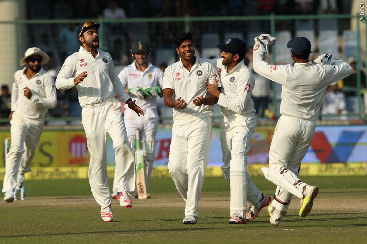 India clinches four match test series against Proteas; jumps to second place in ICC Test rankings