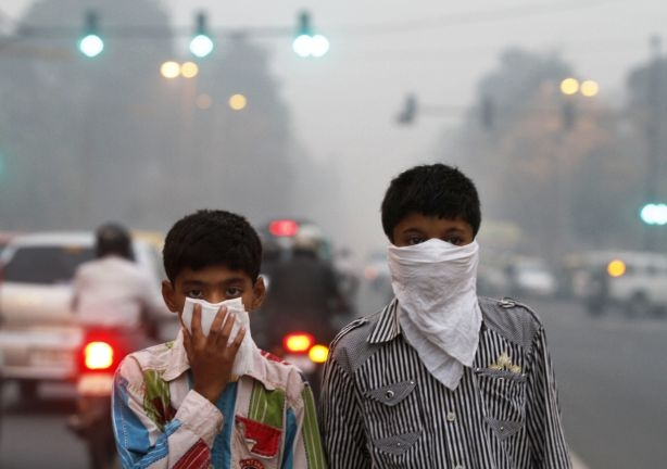 India records over 75% air pollution casualties reveals WHO report