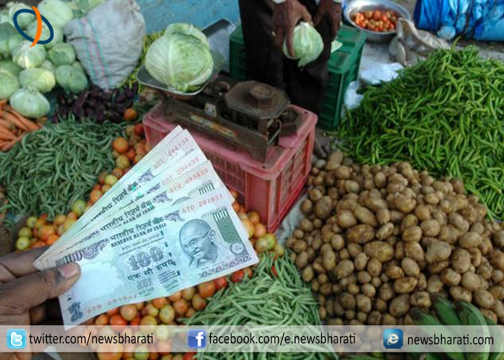 Inflation rate slipped to 5.70% in March, food prices hiked