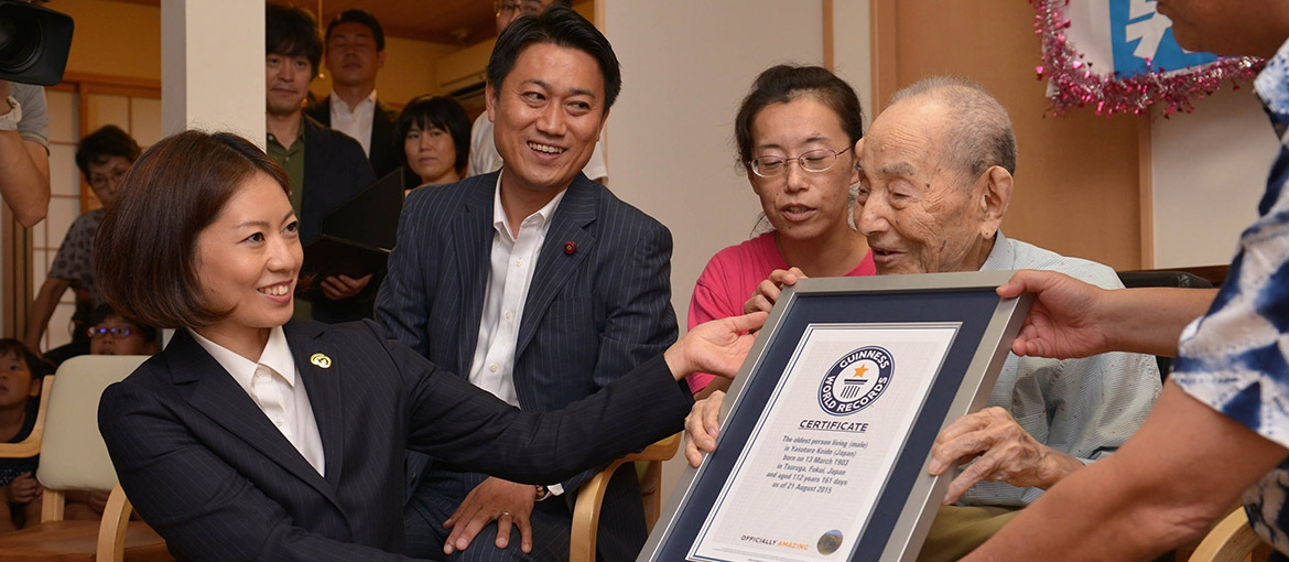 Meet the new oldest living male Yasutaro Koide on the earth, confirms Guinness World Records