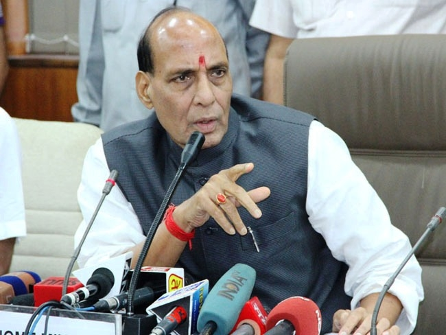 Govt ready to talk to any Naxalite or militant group that shuns the path of violence says Rajnath