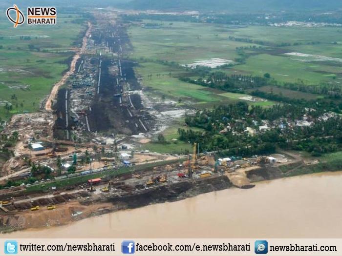 Andhra Pradesh govt creates history links Godavari, Krishna Rivers for better irrigation