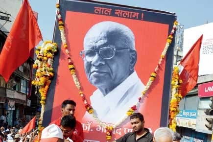 2 more detained in connection with Com. Govind Pansare murder case
