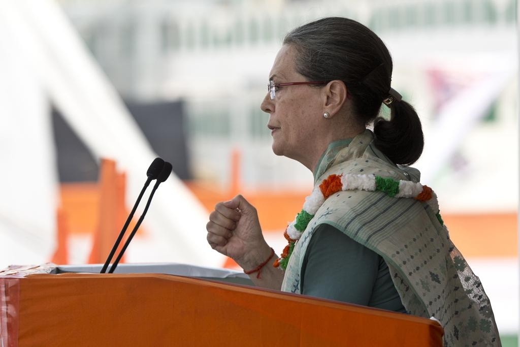 Future of India and Bihar will be determined by outcome of crucial polls in the state says Sonia