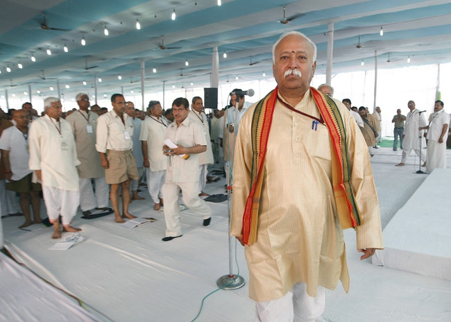 RSS says media reports on Bhagwat incorrect