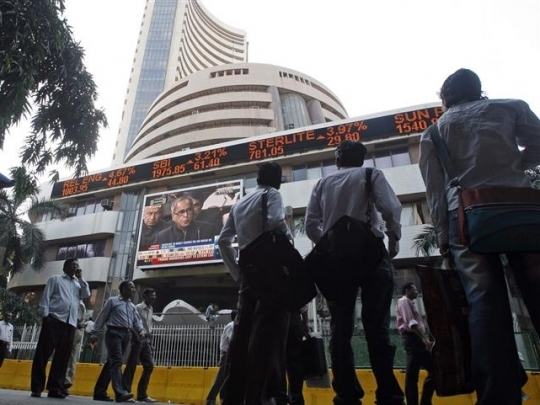 Sensex trips 72 points on profit-booking, global cues