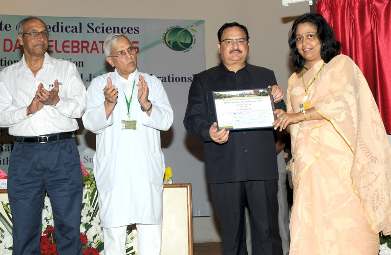 """Nadda inaugurates 60 years celebrations at AIIMS, says """"It has set benchmarks in healthcare"""""""