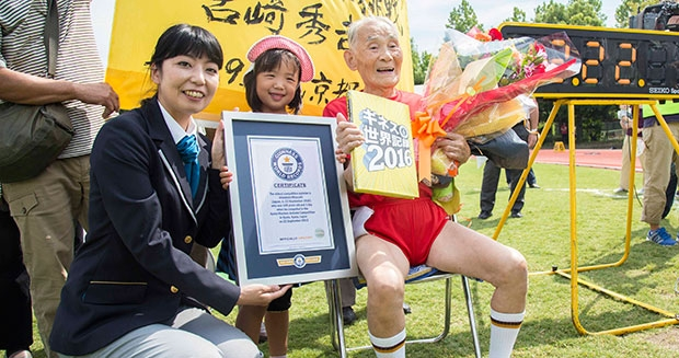 105-year-old Japanese creates Guinness world record of becoming oldest sprinter