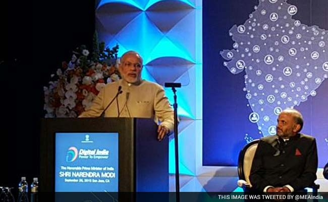 In this digital age, we have an opportunity to transform lives of people: Modi
