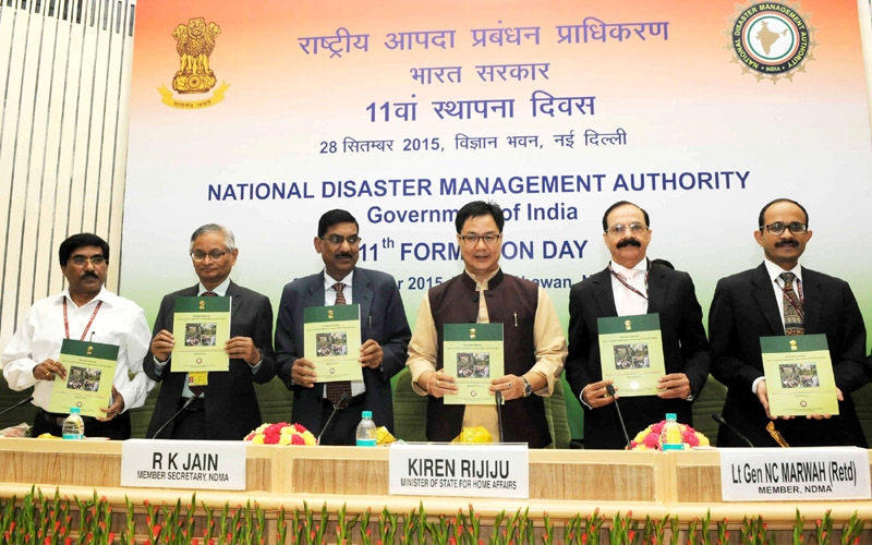 Centre is positive in putting efforts for disaster management, says Kiren Rijiju