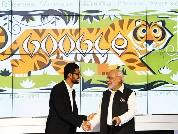 As PM Modi tours Google office; Pichai announces to provide WiFi at 500 railway stations in India