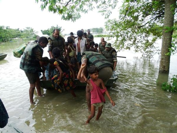 Assam flood situation remains grim; 294 relief camps set, over 16 lakh people affected