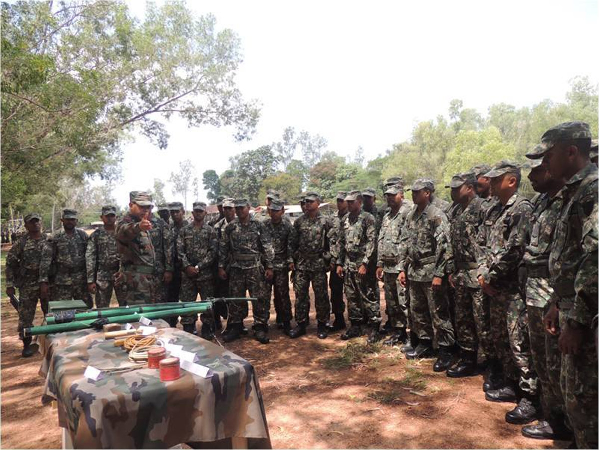 India Maldives gears up with their sixth Joint Military Exercise