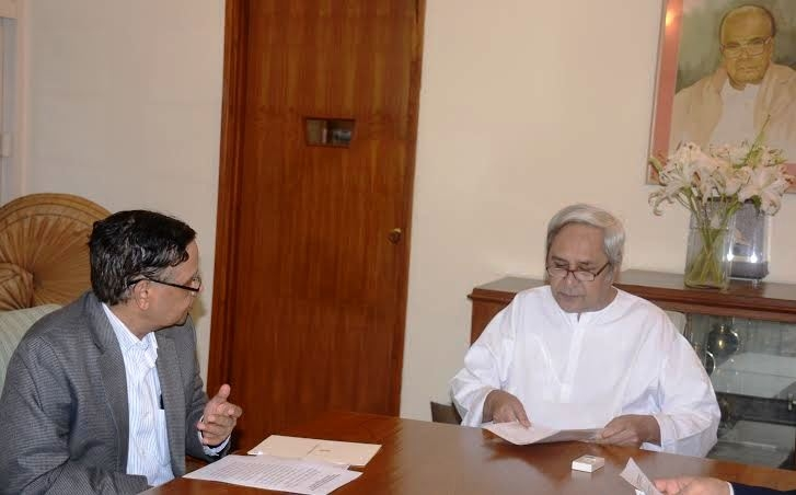 Arvind Panagariya meets CM Patnaik; urges to have 'Special Category Status' for Odisha