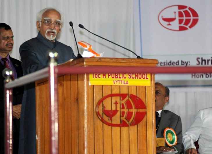 Ansari urges for positive interaction between religions to live together in spite of differences