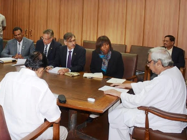 WFP Executive Director Ertharin Cousin visits Odisha; met Chief Minister Naveen Patnaik