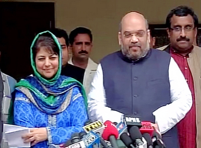 PDP-BJP alliance to stay, coalition govt likely